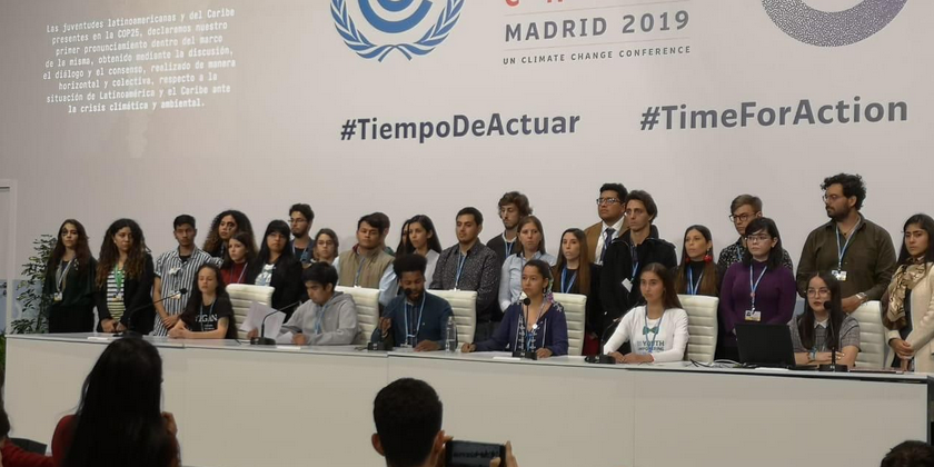 At the Climate Conference, the message of young people