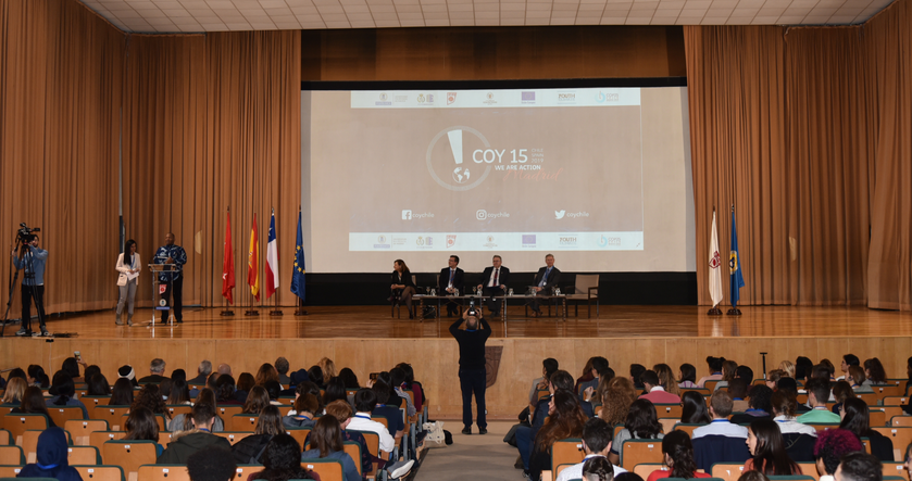 The COY15 has just started