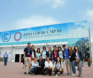 Youth from Europe and Latin America participate in the United Nations Conference on Climate Change in Lima