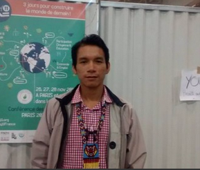 COY 11 in Paris: a young Ecuadorian with big aspirations