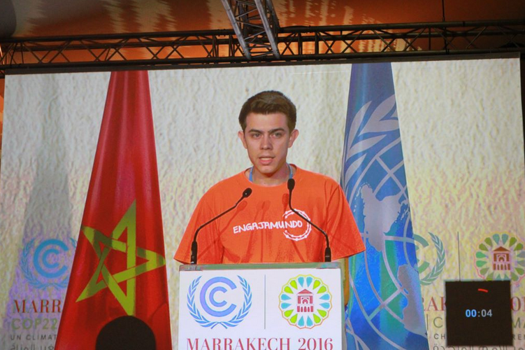 COP22: What can you say in 2 minutes?