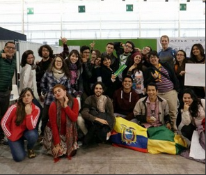 Latin American youth gather in Paris COY11