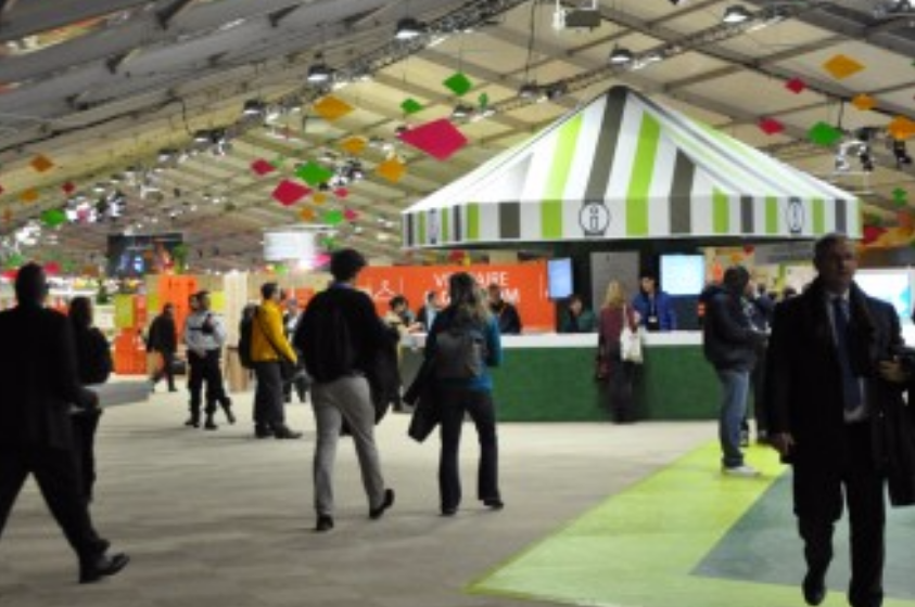 First space for exchange open to the public in the COP21