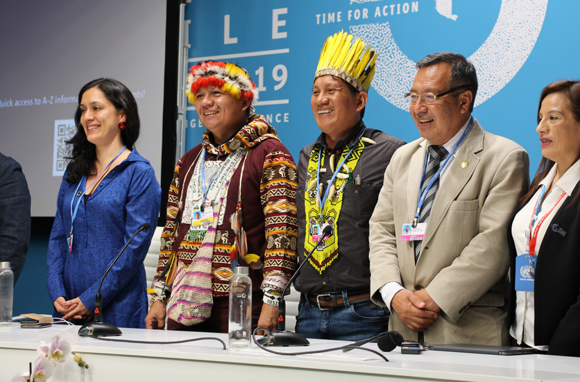 "Indigenous people at COP25: You have to go ""beyond the photo and create a space of equality"""