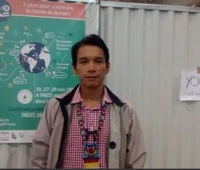 COY 11 in Paris: a young Ecuadorian with big aspirations