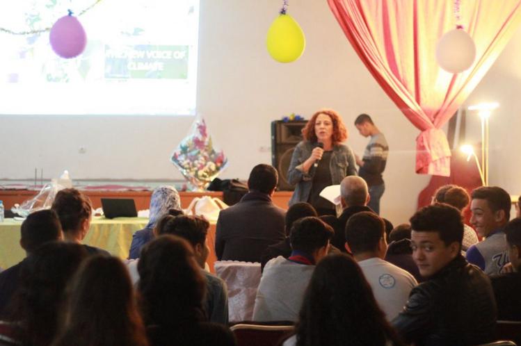 Activity with Oum Hani School